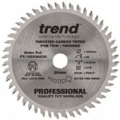 Trend Professional 165x20mm TCT Plunge Saw Blade - 48 Teeth (FT/165X48X20)